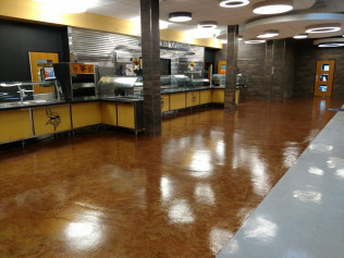 Commercial Polyaspartic Floors